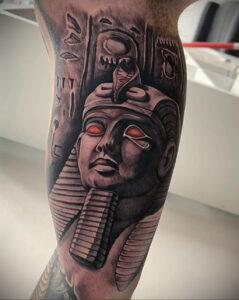 Пример рисунка татуировки Сфинкс 14.12.2020 №094 -sphinx tattoo-tattoo-photo.ru