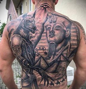 Пример рисунка татуировки Сфинкс 14.12.2020 №114 -sphinx tattoo-tattoo-photo.ru