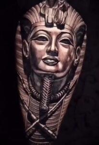 Пример рисунка татуировки Сфинкс 14.12.2020 №119 -sphinx tattoo-tattoo-photo.ru