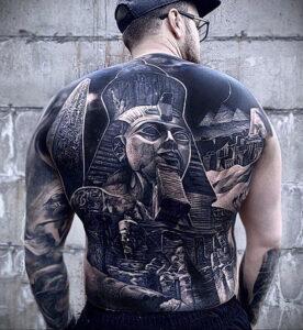 Пример рисунка татуировки Сфинкс 14.12.2020 №123 -sphinx tattoo-tattoo-photo.ru