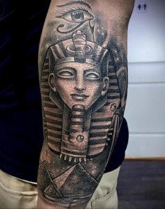 Пример рисунка татуировки Сфинкс 14.12.2020 №124 -sphinx tattoo-tattoo-photo.ru