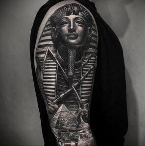 Пример рисунка татуировки Сфинкс 14.12.2020 №129 -sphinx tattoo-tattoo-photo.ru
