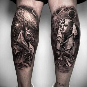 Пример рисунка татуировки Сфинкс 14.12.2020 №131 -sphinx tattoo-tattoo-photo.ru