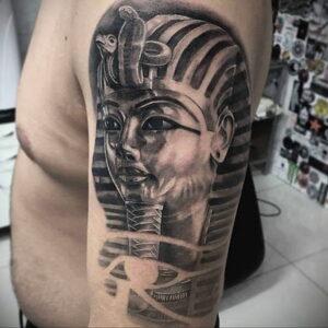 Пример рисунка татуировки Сфинкс 14.12.2020 №137 -sphinx tattoo-tattoo-photo.ru