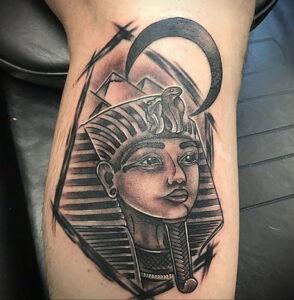 Пример рисунка татуировки Сфинкс 14.12.2020 №142 -sphinx tattoo-tattoo-photo.ru