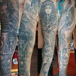 Пример рисунка татуировки Сфинкс 14.12.2020 №148 -sphinx tattoo-tattoo-photo.ru