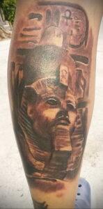 Пример рисунка татуировки Сфинкс 14.12.2020 №155 -sphinx tattoo-tattoo-photo.ru