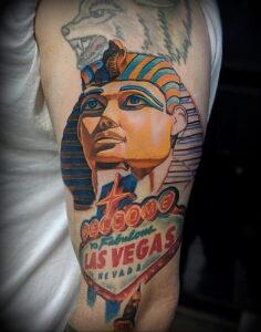 Пример рисунка татуировки Сфинкс 14.12.2020 №158 -sphinx tattoo-tattoo-photo.ru