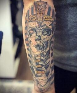 Пример рисунка татуировки Сфинкс 14.12.2020 №160 -sphinx tattoo-tattoo-photo.ru