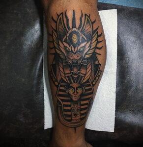 Пример рисунка татуировки Сфинкс 14.12.2020 №173 -sphinx tattoo-tattoo-photo.ru