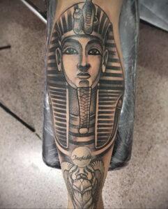 Пример рисунка татуировки Сфинкс 14.12.2020 №187 -sphinx tattoo-tattoo-photo.ru