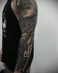 Пример рисунка татуировки Сфинкс 14.12.2020 №190 -sphinx tattoo-tattoo-photo.ru