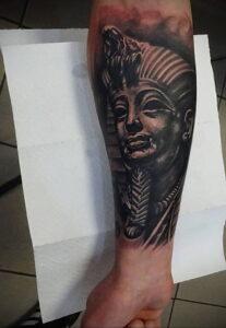 Пример рисунка татуировки Сфинкс 14.12.2020 №191 -sphinx tattoo-tattoo-photo.ru