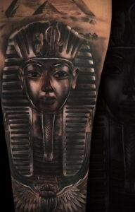Пример рисунка татуировки Сфинкс 14.12.2020 №199 -sphinx tattoo-tattoo-photo.ru