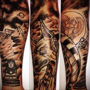 Пример рисунка татуировки Сфинкс 14.12.2020 №209 -sphinx tattoo-tattoo-photo.ru