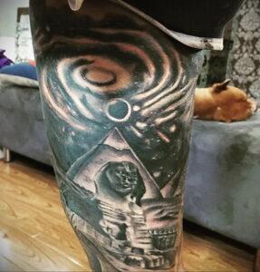 Пример рисунка татуировки Сфинкс 14.12.2020 №214 -sphinx tattoo-tattoo-photo.ru