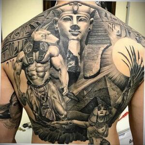 Пример рисунка татуировки Сфинкс 14.12.2020 №224 -sphinx tattoo-tattoo-photo.ru