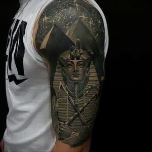 Пример рисунка татуировки Сфинкс 14.12.2020 №225 -sphinx tattoo-tattoo-photo.ru