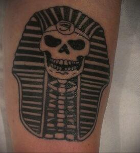 Пример рисунка татуировки Сфинкс 14.12.2020 №228 -sphinx tattoo-tattoo-photo.ru