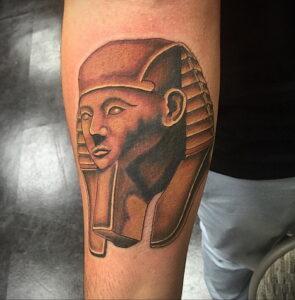 Пример рисунка татуировки Сфинкс 14.12.2020 №229 -sphinx tattoo-tattoo-photo.ru