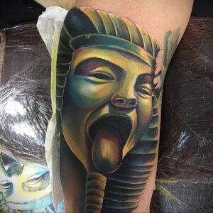 Пример рисунка татуировки Сфинкс 14.12.2020 №231 -sphinx tattoo-tattoo-photo.ru