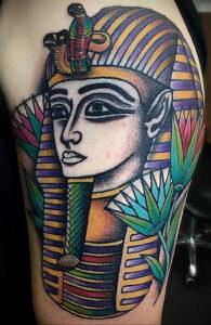 Пример рисунка татуировки Сфинкс 14.12.2020 №232 -sphinx tattoo-tattoo-photo.ru