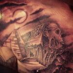 Пример рисунка татуировки Сфинкс 14.12.2020 №234 -sphinx tattoo-tattoo-photo.ru