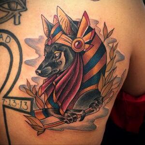 Пример рисунка татуировки Сфинкс 14.12.2020 №240 -sphinx tattoo-tattoo-photo.ru