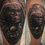 Пример рисунка татуировки Сфинкс 14.12.2020 №250 -sphinx tattoo-tattoo-photo.ru