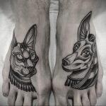 Пример рисунка татуировки Сфинкс 14.12.2020 №254 -sphinx tattoo-tattoo-photo.ru