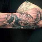Пример рисунка татуировки Сфинкс 14.12.2020 №255 -sphinx tattoo-tattoo-photo.ru