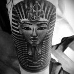 Пример рисунка татуировки Сфинкс 14.12.2020 №257 -sphinx tattoo-tattoo-photo.ru