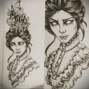 Фото рисунка тату НА ТЕМУ ВЕДЬМ 28.01.2021 №0006 - witch tattoo - tattoo-photo.ru