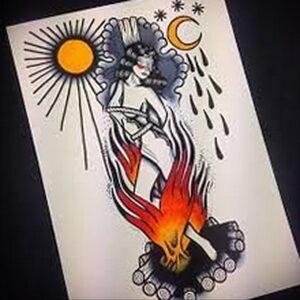 Фото рисунка тату НА ТЕМУ ВЕДЬМ 28.01.2021 №0048 - witch tattoo - tattoo-photo.ru