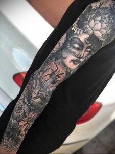 Фото рисунка тату НА ТЕМУ ВЕДЬМ 28.01.2021 №0049 - witch tattoo - tattoo-photo.ru