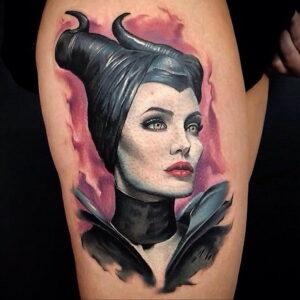 Фото рисунка тату НА ТЕМУ ВЕДЬМ 28.01.2021 №0054 - witch tattoo - tattoo-photo.ru
