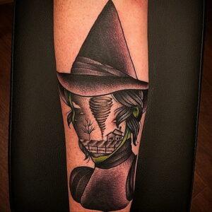 Фото рисунка тату НА ТЕМУ ВЕДЬМ 28.01.2021 №0055 - witch tattoo - tattoo-photo.ru