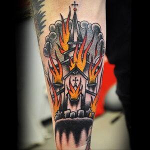 Фото рисунка тату НА ТЕМУ ВЕДЬМ 28.01.2021 №0056 - witch tattoo - tattoo-photo.ru