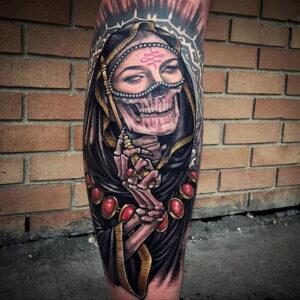 Фото рисунка тату НА ТЕМУ ВЕДЬМ 28.01.2021 №0057 - witch tattoo - tattoo-photo.ru