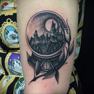 Фото рисунка тату НА ТЕМУ ВЕДЬМ 28.01.2021 №0062 - witch tattoo - tattoo-photo.ru