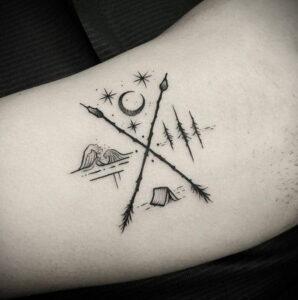 Фото рисунка тату НА ТЕМУ ВЕДЬМ 28.01.2021 №0068 - witch tattoo - tattoo-photo.ru