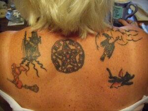 Фото рисунка тату НА ТЕМУ ВЕДЬМ 28.01.2021 №0077 - witch tattoo - tattoo-photo.ru