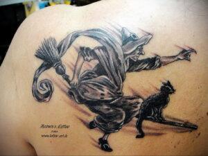 Фото рисунка тату НА ТЕМУ ВЕДЬМ 28.01.2021 №0081 - witch tattoo - tattoo-photo.ru