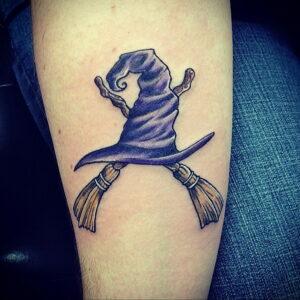 Фото рисунка тату НА ТЕМУ ВЕДЬМ 28.01.2021 №0099 - witch tattoo - tattoo-photo.ru