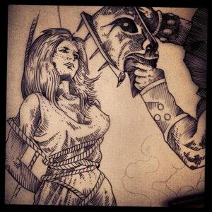 Фото рисунка тату НА ТЕМУ ВЕДЬМ 28.01.2021 №0105 - witch tattoo - tattoo-photo.ru