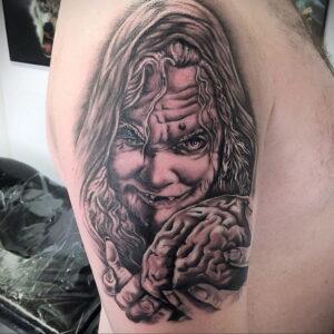 Фото рисунка тату НА ТЕМУ ВЕДЬМ 28.01.2021 №0109 - witch tattoo - tattoo-photo.ru