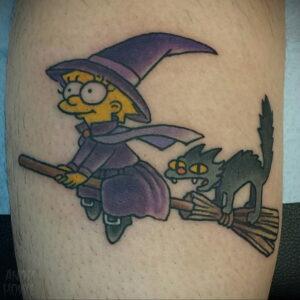 Фото рисунка тату НА ТЕМУ ВЕДЬМ 28.01.2021 №0122 - witch tattoo - tattoo-photo.ru