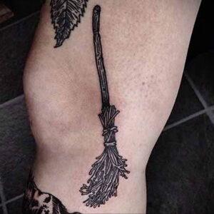 Фото рисунка тату НА ТЕМУ ВЕДЬМ 28.01.2021 №0139 - witch tattoo - tattoo-photo.ru