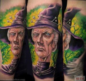 Фото рисунка тату НА ТЕМУ ВЕДЬМ 28.01.2021 №0149 - witch tattoo - tattoo-photo.ru