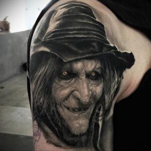 Фото рисунка тату НА ТЕМУ ВЕДЬМ 28.01.2021 №0154 - witch tattoo - tattoo-photo.ru